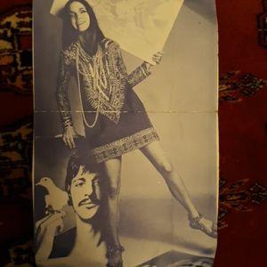 Vintage hanmade Sonney n Cher dress